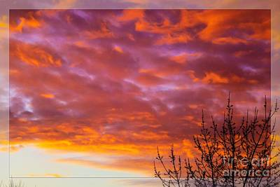 Photograph - Sunset 7 by Jean Bernard Roussilhe