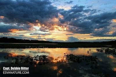 Photograph - Sunset 7038 by Captain Debbie Ritter