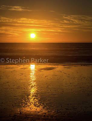 Photograph - Sunset  8b5460 by Stephen Parker