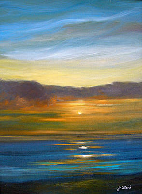 Sunset 9 Art Print by Jeannette Ulrich