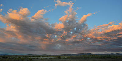 Photograph - Sunset Above Highway 50 In Colorado by Ray Mathis