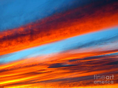 Photograph - Sunset Abstract by Kelly Holm