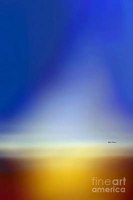 Digital Art - Sunset Abstract  by Rafael Salazar