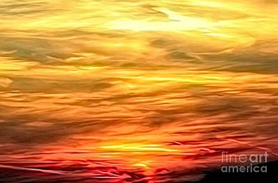 Photograph - Sunset Abstract by Rose Santuci-Sofranko