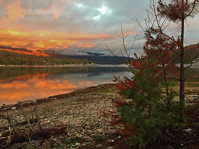 Photograph - Sunset After The Storm - Sierra National Forest by Walter Fahmy