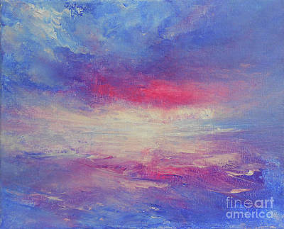 Painting - Sunset Afterglow by Jane See