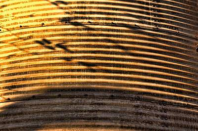 Photograph - Sunset Against The Silo by Jan Amiss Photography