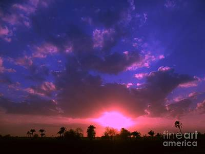 Sunset Art Print by Ahmed Nooh