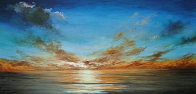 Painting - Sunset by Alan Zawacki