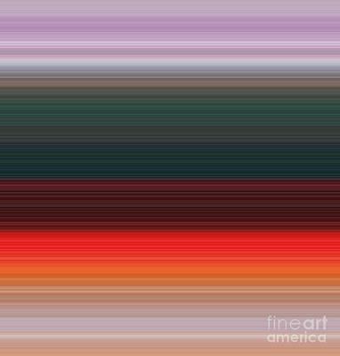 Digital Art - Sunset by Alex Caminker