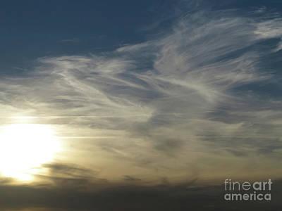 Photograph - Sunset And Clouds by Michal Boubin