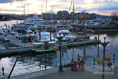 Photograph - Sunset And Music In Victoria by Carol Groenen