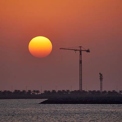 Photograph - Sunset And Progress by Jouko Lehto