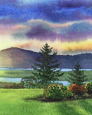 Painting - Sunset And Shadows  by Irina Sztukowski