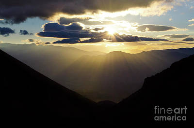 Photograph - Sunset Argentina by Bob Christopher