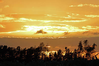 Heaven Painting - Creamsicle Sunset Photo by Ken Figurski