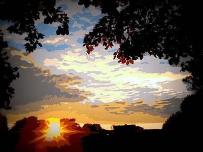Sunset Original by Arun Sarin