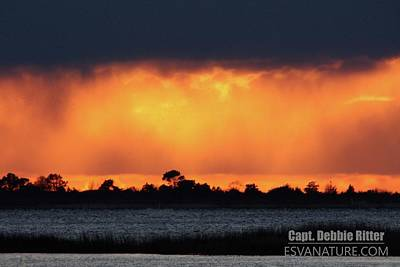 Photograph - Sunrise Assateague 4358 by Captain Debbie Ritter