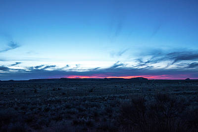 Photograph - Sunset At 544 Pm by Tom Cochran