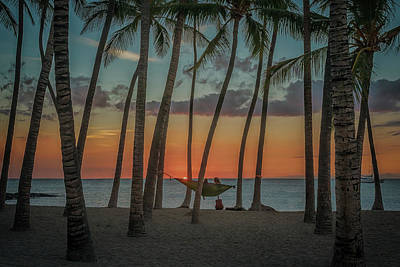 Photograph - Sunset At A-bay by Susan Rissi Tregoning