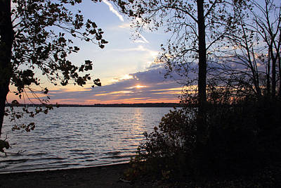 Photograph - Sunset At Alum Creek by Angela Murdock