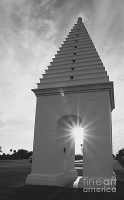 Architecture Photograph - Sunset At Alys Beach by Megan Cohen