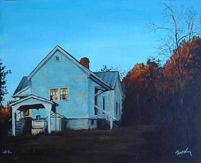 Painting - Sunset At Bills by William Brody
