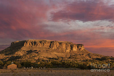 Photograph - Sunset At Black Mesa by Keith Kapple