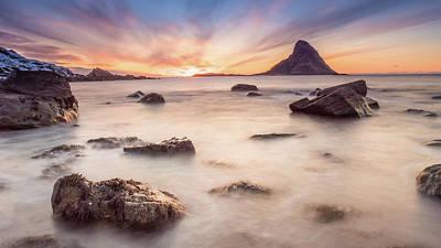 Photograph - Sunset At Bleik by Alex Conu