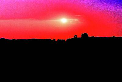Digital Art - Sunset At Bob's 42  by Lyle Crump