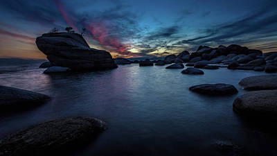 Photograph - Sunset At Bonsai Rock by Rick Strobaugh
