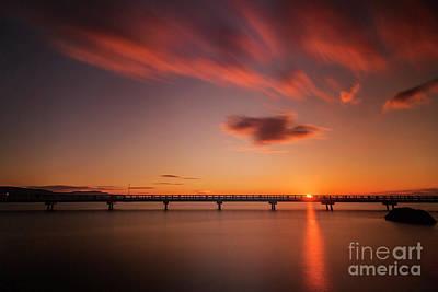 Photograph - Sunset At Boulevard Park by Paul Conrad