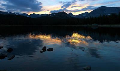 Latidude Image - Sunset at Brainard Lake Co. by Gary Langley