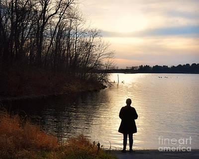 Photograph - Sunset At Brushy Creek by Kathy M Krause