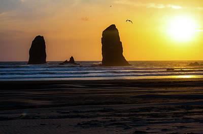 Photograph - Sunset At Canon Beach by Joshua Tree