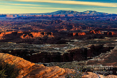 Photograph - Sunset At Canyonlands 3 by Ben Graham
