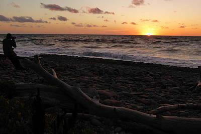 Travel - Sunset at Cap Rouge by Joel Deutsch
