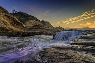 Oregon State Photograph - Sunset At Cape Kiwanda by Rick Berk
