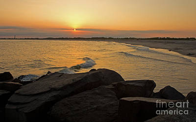 Photograph - Sunset At Cape May by Robert Pilkington