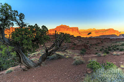 Photograph - Sunset At Capitol Reef 2 by Ben Graham