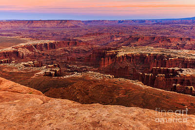 Photograph - Sunset At Canyonlands 5 by Ben Graham