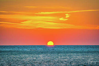Photograph - Sunset At Captiva by Francisco Gomez