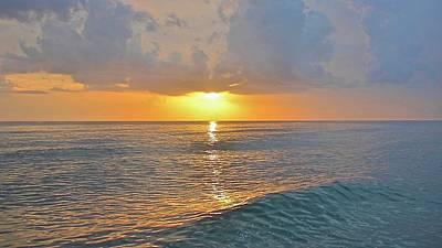 Photograph - Sunset At Captive Island by Carol Bradley