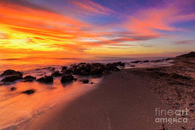 Photograph - Sunset At Casperson Beach 2 by Ben Graham