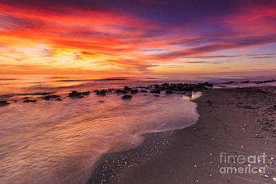 Photograph - Sunset At Casperson Beach by Ben Graham