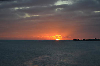 Photograph - Sunset At Cedar Key Florida by rd Erickson