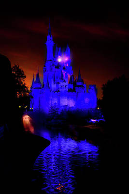 Photograph - Sunset At Cinderella Castle by Mark Andrew Thomas