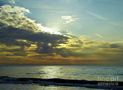 Photograph - Sunset At Clearwater by D Hackett