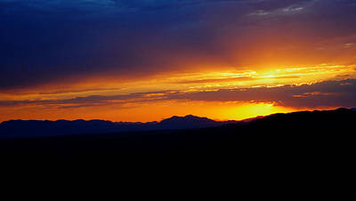 Photograph - Sunset At Coronado National Memorial by Charlene Mitchell