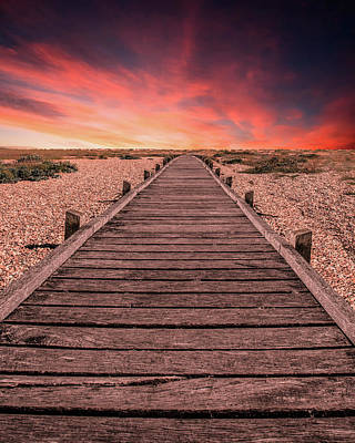 Photograph - Sunset At Dungeness by Jaroslaw Blaminsky